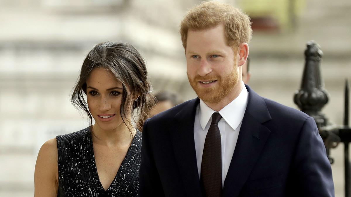 Meghan Markle y el príncipe Enrique, el pasado 23 de abril, en Londres.