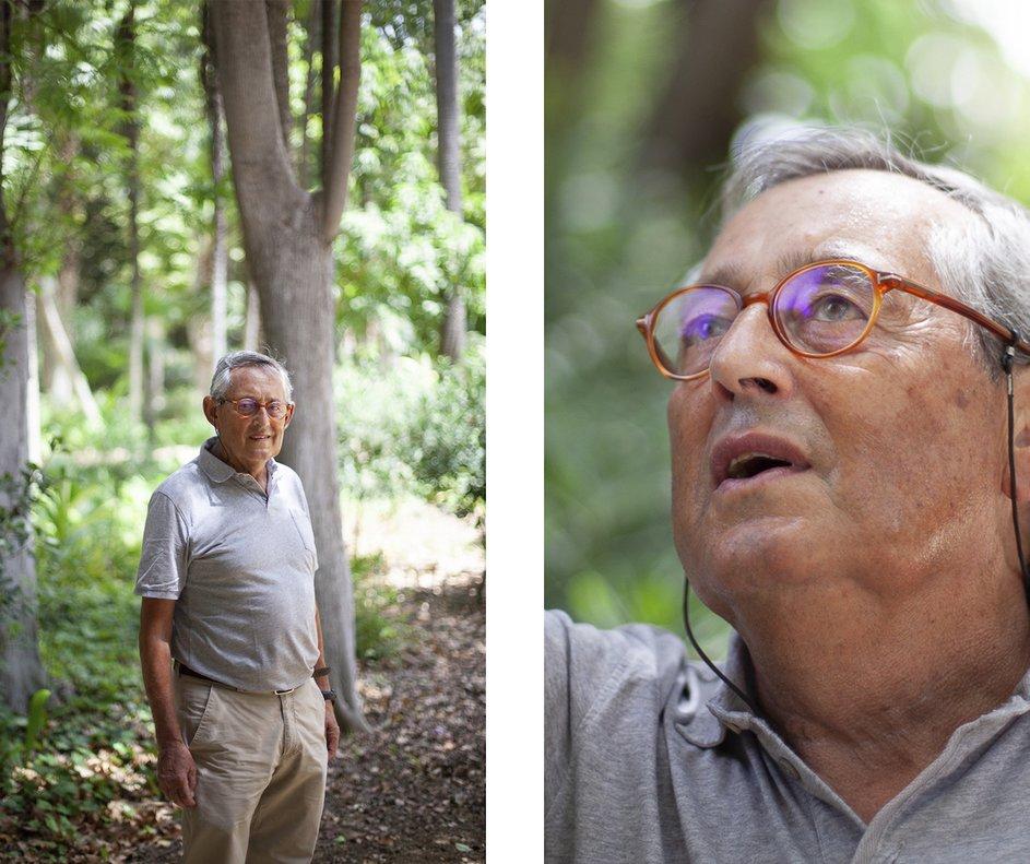 Miguel Delibes de Castro es biólogo y confía en la divulgación para frenar la pisada del ser humano en la Tierra.