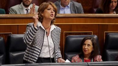 La ministra Delgado olvida la paridad al revisar la justicia universal