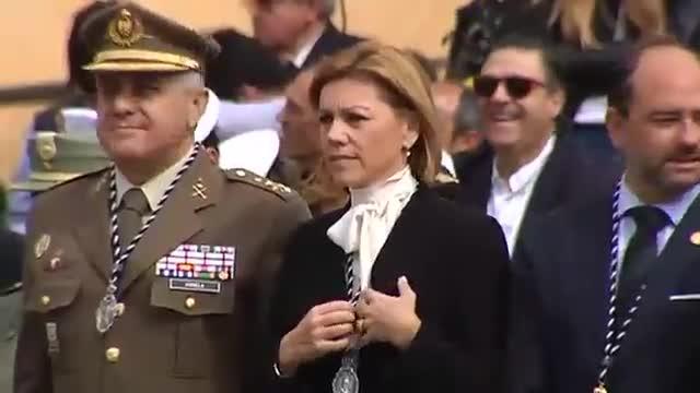 Ministres del PP acompanyen la Legió en la processó del Crist de la Bona Mort