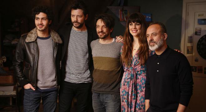 Imatges del rodatge de Mirage, la nova pel·lícula dOriol Paulo, amb Adriana Ugarte, Javier Gutiérrez, Chino Darin i Álvaro Morte.