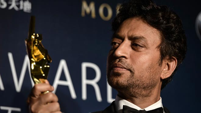Muere el actor Irrfan Khan.