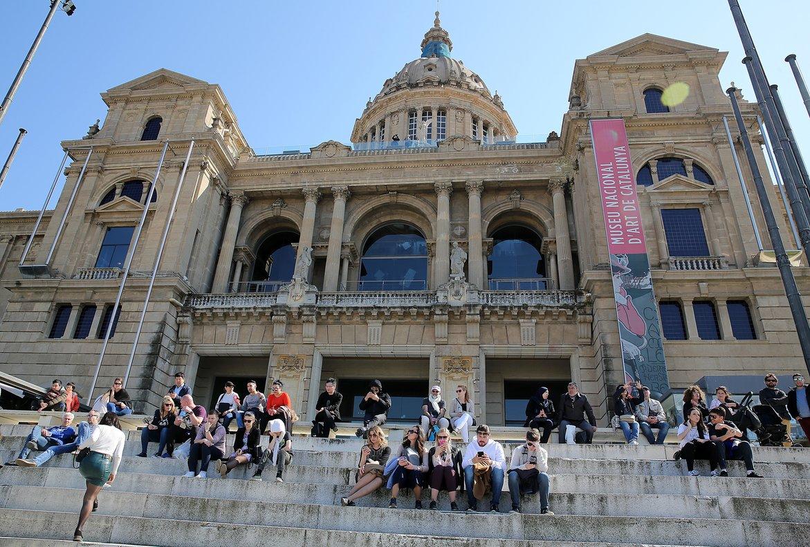 El Museu Nacional d'Art de Catalunya (MNAC).