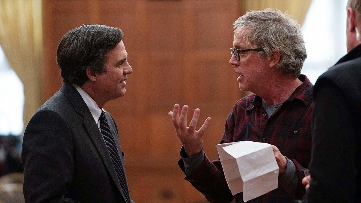 Mark Ruffalo (izquierda) y Todd Haynes, en el rodaje.