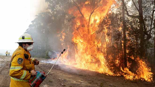Australia prevé nuevas evacuaciones en el estado de Victoria por los fuegos