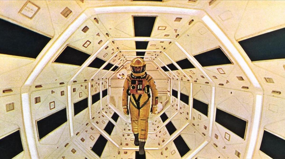 Un fotograma de la película 2001: una odisea del espacio, de Stanley Kubrick.
