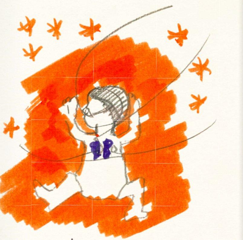 Página del libro Nacimiento, de Yolanda Andrés.
