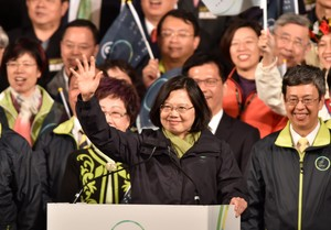 Tsai Ing-wen, presidenta de Taiwan.