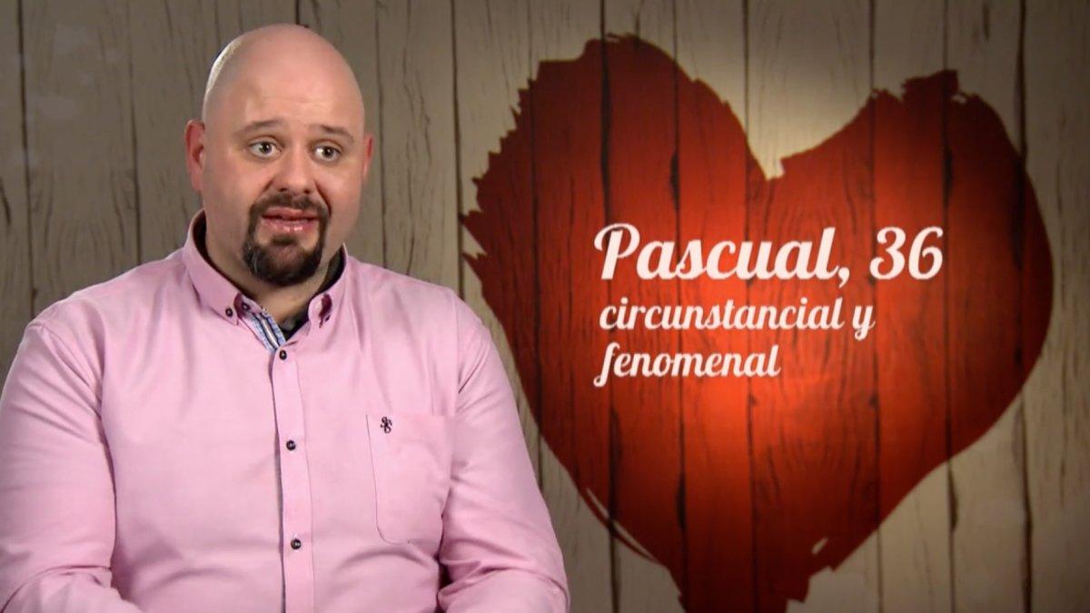 Pascual en 'First Dates'.