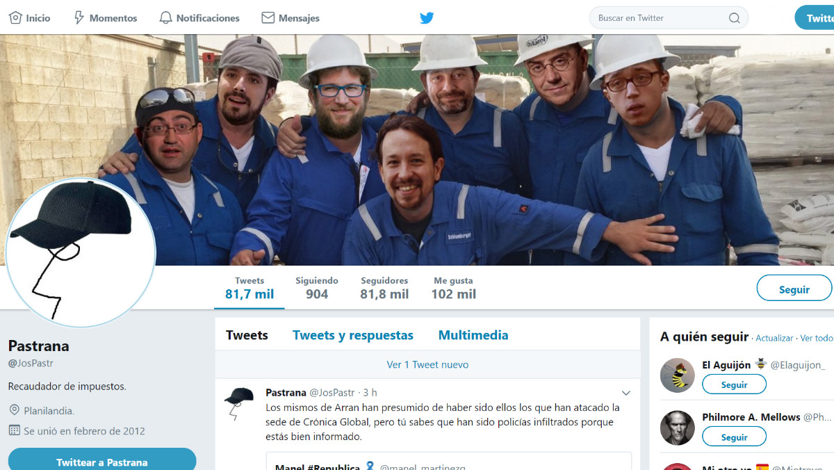 ¿Es el tuitero Pastrana un alcalde del PP de Teruel?