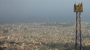 Contaminación en Barcelona.