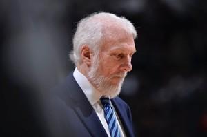 Greeg Popovich entrenador de los San Antonio Spurs.