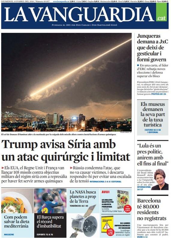 Trump rinde al quiosco con su ataque limitado en Siria