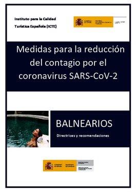 Protocolo de seguridad por el covid-19 en los balnearios
