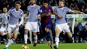 El Barcelona trenca el malefici davant la Reial Societat (2-4)