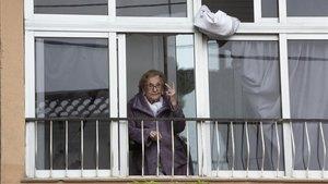Otilia Agustina, 94 anys: «Reso cada dia perquè tots es curin com jo»