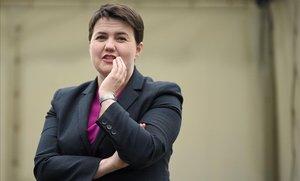 Ruth Davidson, del Partido Conservador en Escocia