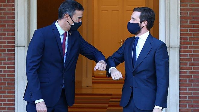 Casado rebutja renovar el Poder Judicial mentre Iglesias segueixi