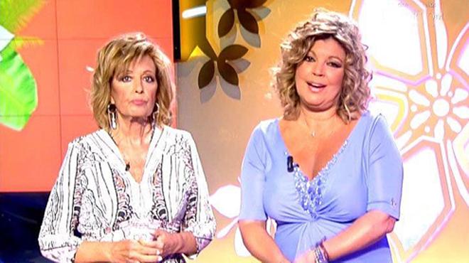 María Teresa y Terelu, investidas presidentas del 'show business'(T-5).