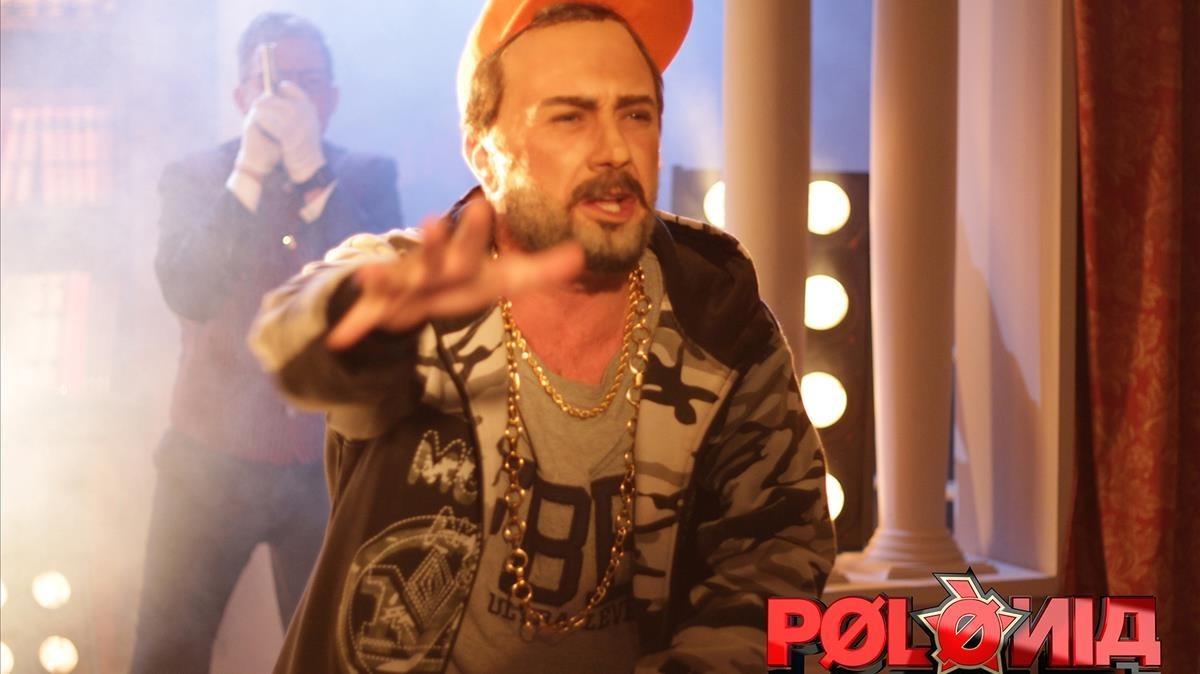 El actor Pep Plaza, como Felipe VI, en la sátira política de TV-3 Polònia.