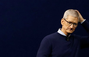 Tim Cook, director ejecutivo de Apple.
