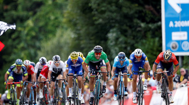 Valverde ya asoma por la cabeza del Tour de Francia