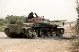 Los enfrentamientos en Trípoli se intensifican.
