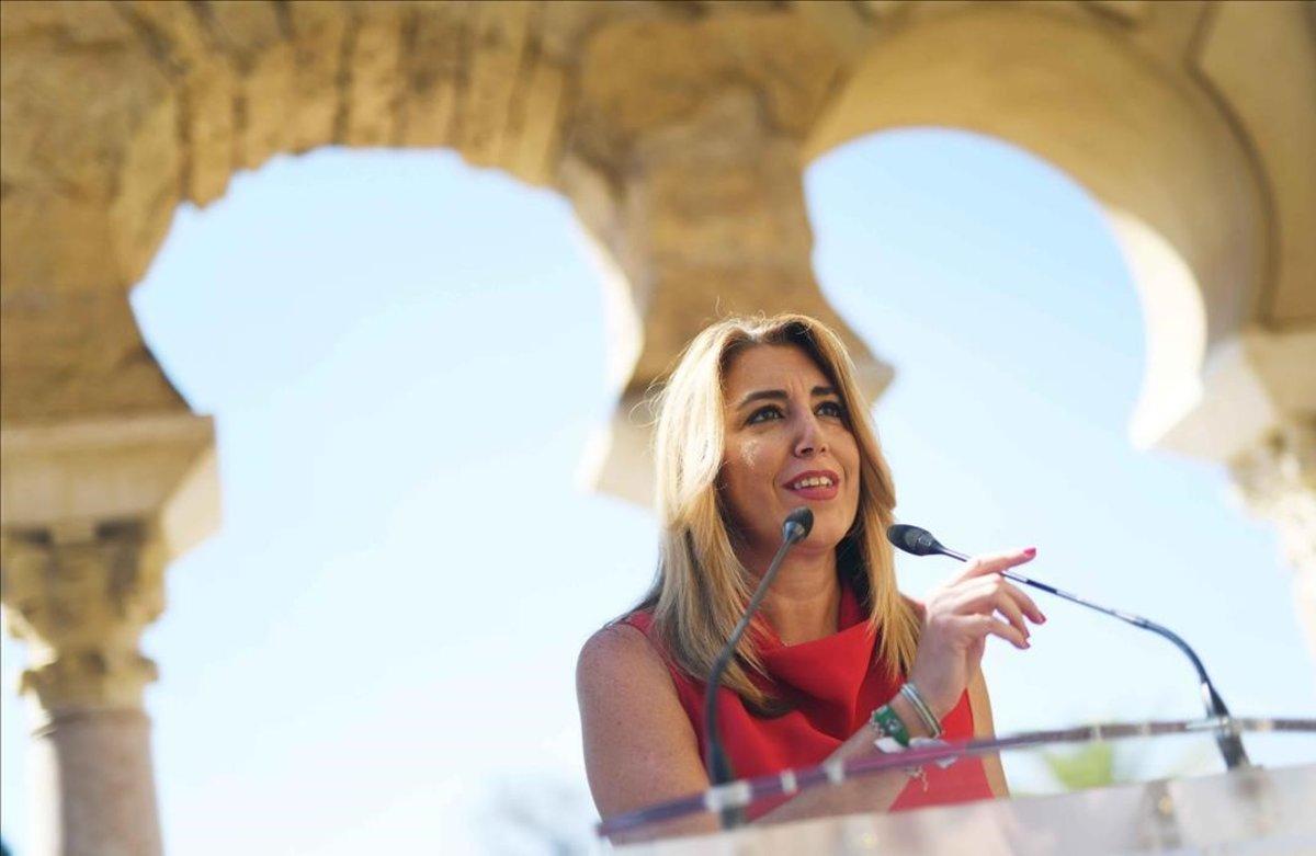 Susana Díaz, el pasado 20 de julio en Medina Azahara (Córdoba).