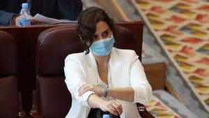 Ayuso culpa els immigrants de la pujada de contagis a Madrid