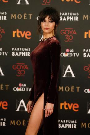 Ursula Corberó, el pasado febrero, en la gala de los Goya.