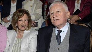 El inesperado reencuentro de María Teresa Campos y Paolo Vasile, ¿acercando posturas?