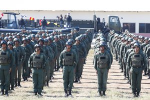 Miembros del ejército venezolano durante un ejercicio demaniobras militares EFEPrensa Miraflores