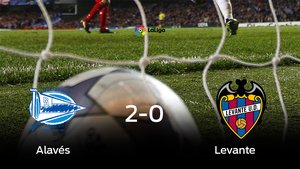 Victoria 2-0 del Alavés frente al Levante