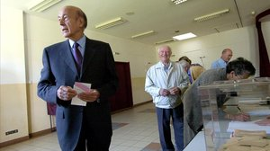 El expresidente francésValery Giscard d'Estaing.