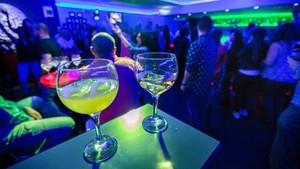 Imagen del interior de una discoteca.