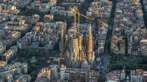 L'ajuntament posa al dia les obres de la Sagrada Família