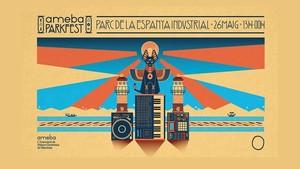 El cartel de este año del Ameba Parkfest.