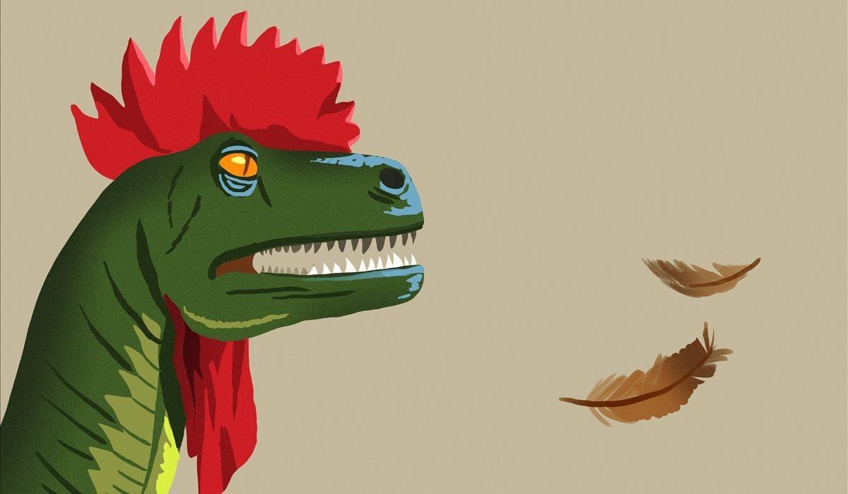 ¿Dinosaurios con plumas?