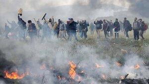 Grècia, la caravana de la desesperació
