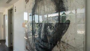 En la azotea del Hotel The Serras donde Picasso tuvo su primer estudio.