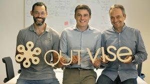 Fred Caillau, Eusebi Llensa y Alex Collart son tres de los socios y directivos de Outvise
