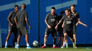 La Champions examina el Barça