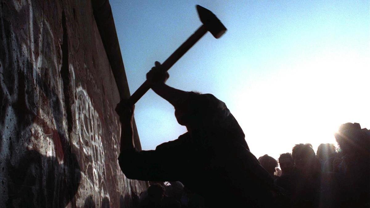 La caída inacabada del Muro de Berlín