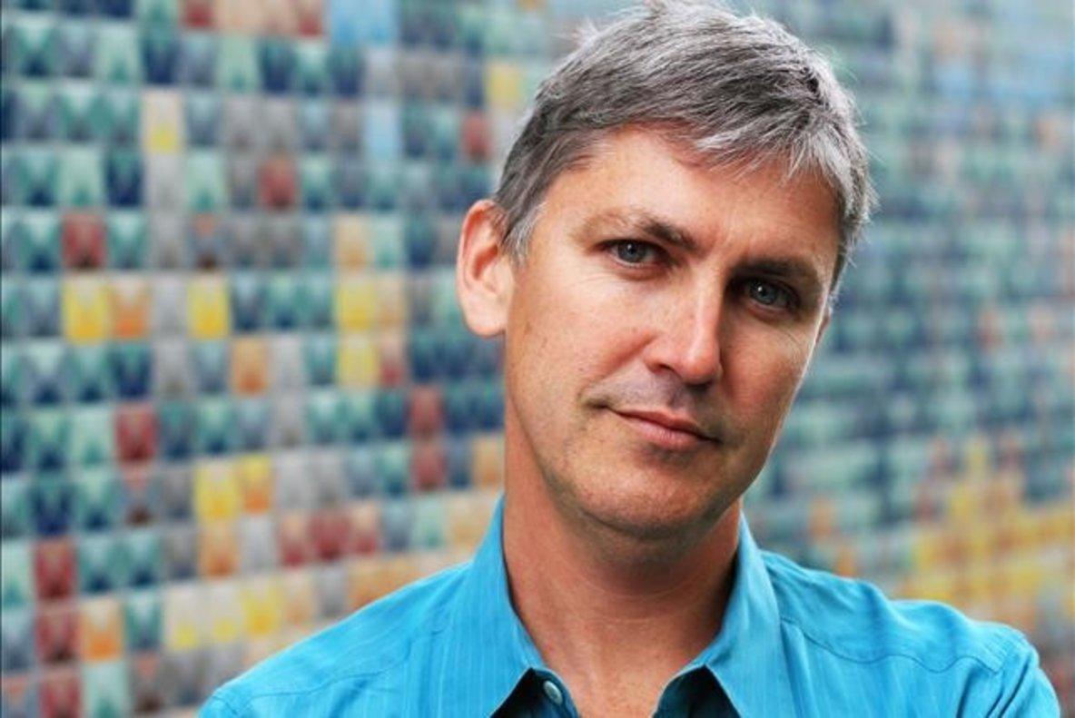 El escritor Steven Johnson.