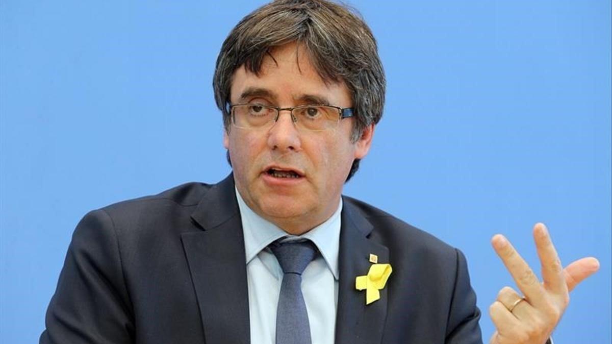 El TC rebutja suspendre l'ordre nacional d'arrest de Puigdemont