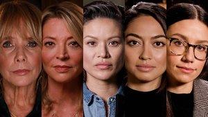 Algunas de las mujeres que intervienen en el documental.