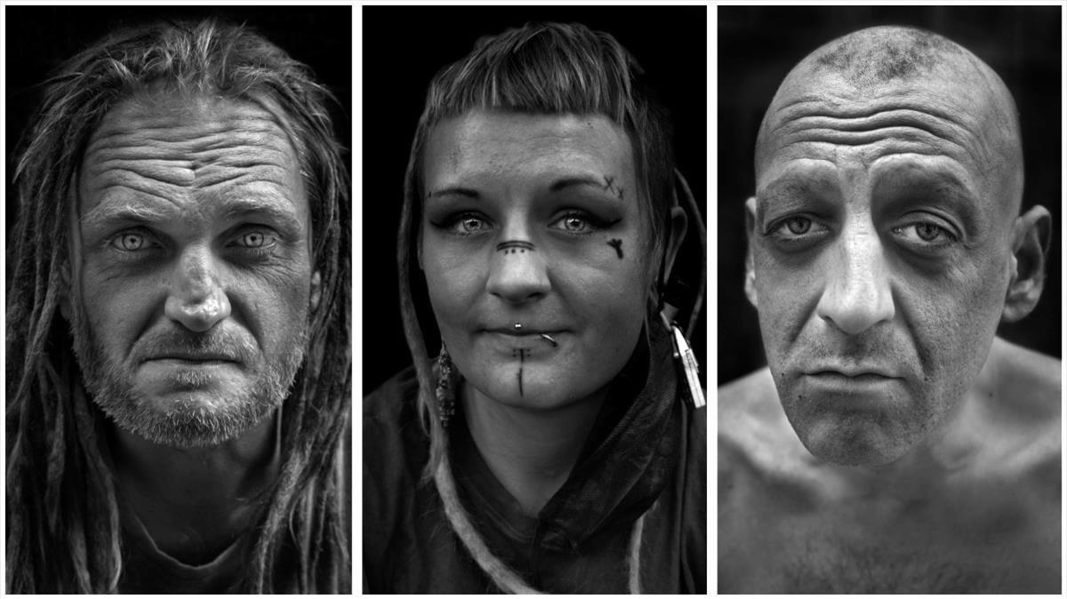 Mateo, surafricano, Hannah, eslovena, y Javi, vallisoletano, tres 'fantasmas' del Gòtic.