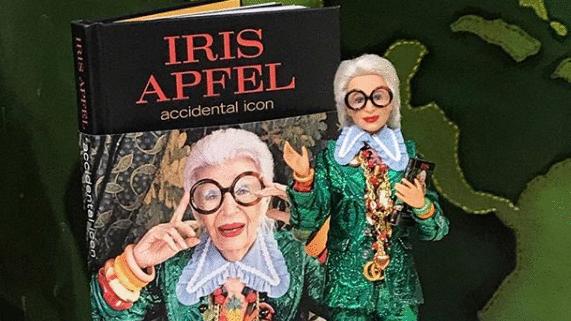 Iris Apfel, la influencer de 96 años, lanza un libro y se convierte en Barbie (ES)