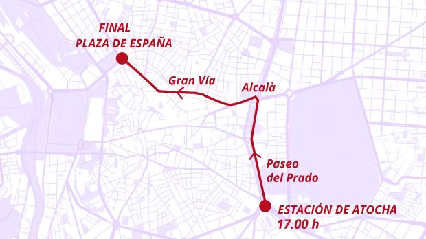 Manifestación del 8 de Marzo en Madrid: horario y recorrido